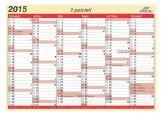Detailní obrázek výrobku Kalendář lístkový plánovací, A4