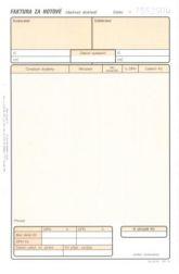 Detailní obrázek výrobku Faktura za hotové - daňový doklad A5