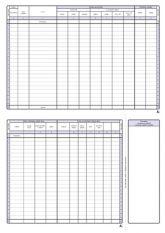 Detailní obrázek výrobku Peněžní deník pro neplátce DPH A4