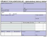 Detailní obrázek výrobku Příjmový jedn. daňový doklad A6